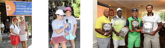 Golf Header-Kids, Sponsors and Champions